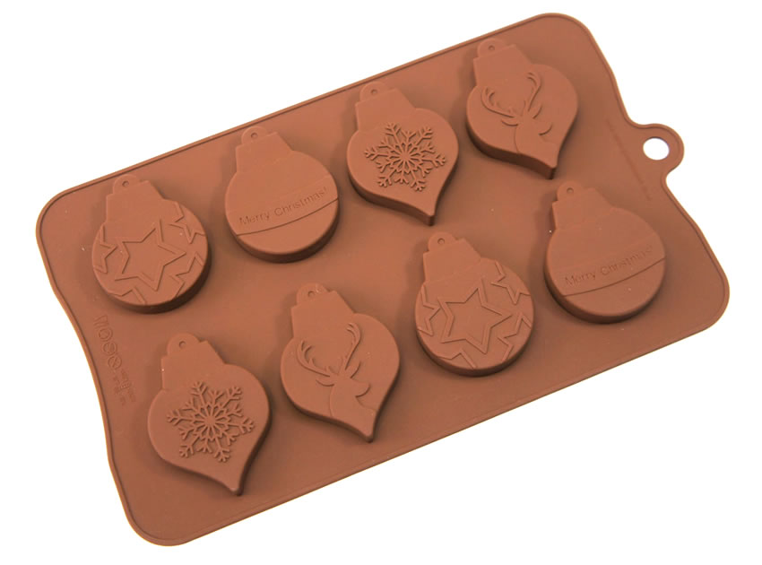 <strong> Stampi in Silicone</strong> Palle di natale