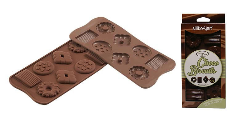<strong> Stampi in Silicone</strong> Choco BISCUIT - Silikomart
