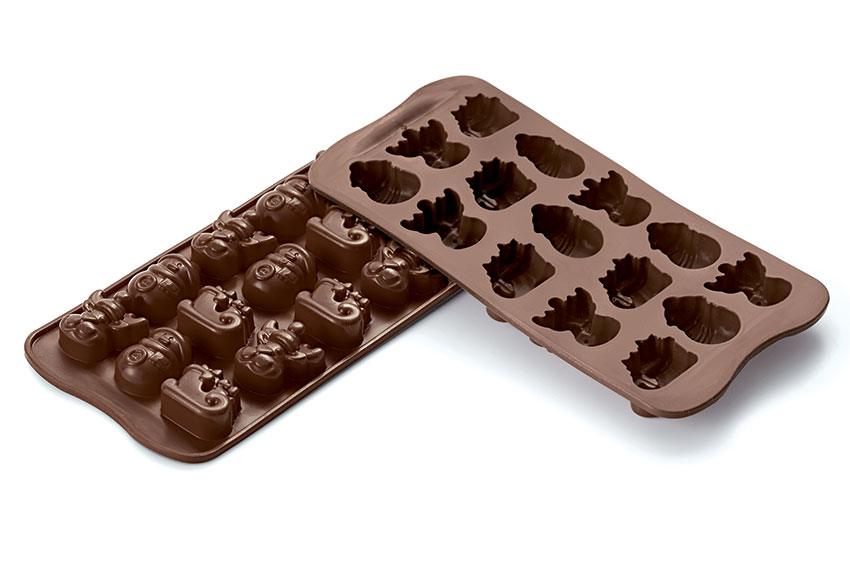 <strong> Stampi in Silicone</strong> Choco WINTER -Silikomart