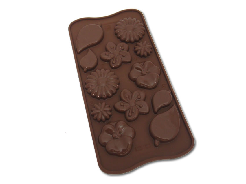 <strong> Stampi in Silicone</strong> Choco GARDEN - Silikomart