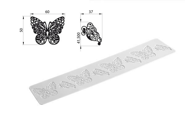 BUTTERFLY - TRICOT DECOR - Silikomart