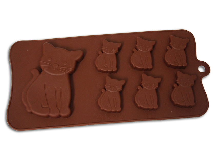 <strong> Stampi in Silicone</strong> Gatto