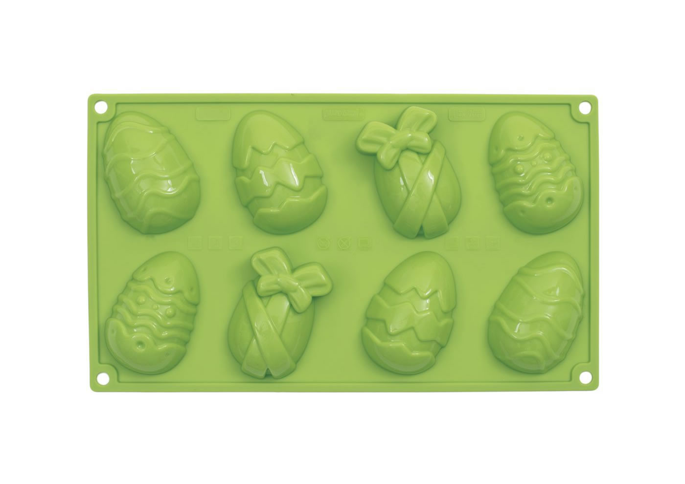 <strong> Stampi in Silicone</strong> HAPPY EGGS - Pavonidea
