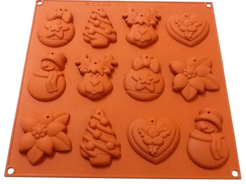 <strong> Stampi in Silicone</strong> MY WINTER COOKIES - Silikomart