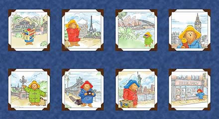 QUILTING TREASURES - PADDINGTON BEAR
