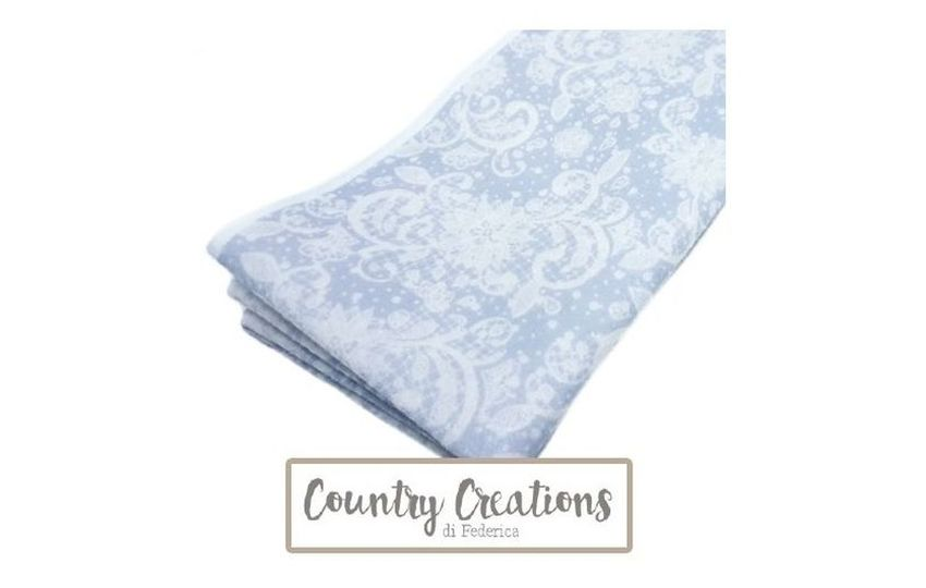 COUNTRY CREATIONS - PIZZO AZZURRO