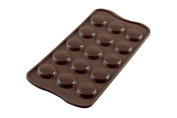 <strong> Stampi in Silicone</strong> Choco MACARON - Silikomart