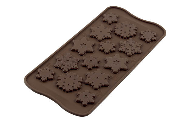 <strong> Stampi in Silicone</strong> Choco FIOCCO DI NEVE - Silikomart