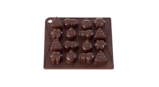 <strong> Stampi in Silicone</strong> CHOCO-ICE CHRISTMAS - Pavonidea