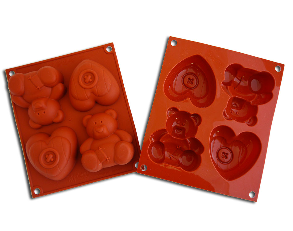 <strong> Stampi in Silicone</strong> HAPPY SWEETIE - Silikomart
