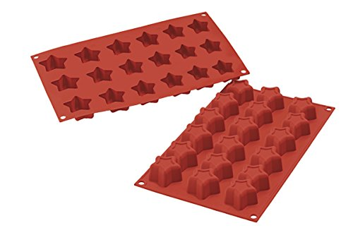 <strong> Stampi in Silicone</strong> MINI STARS - Silikomart
