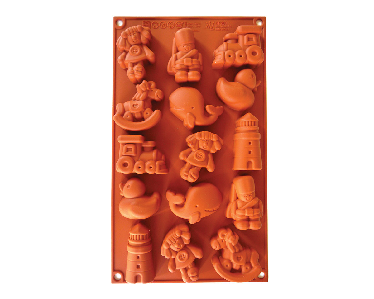 <strong> Stampi in Silicone</strong> Fancy Toys - Silikomart